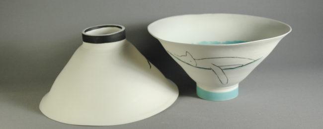 Bols et saladiers en porcelaine