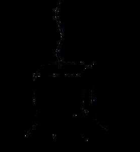 Luminaires dessin site - Atelier Terres d'Angély