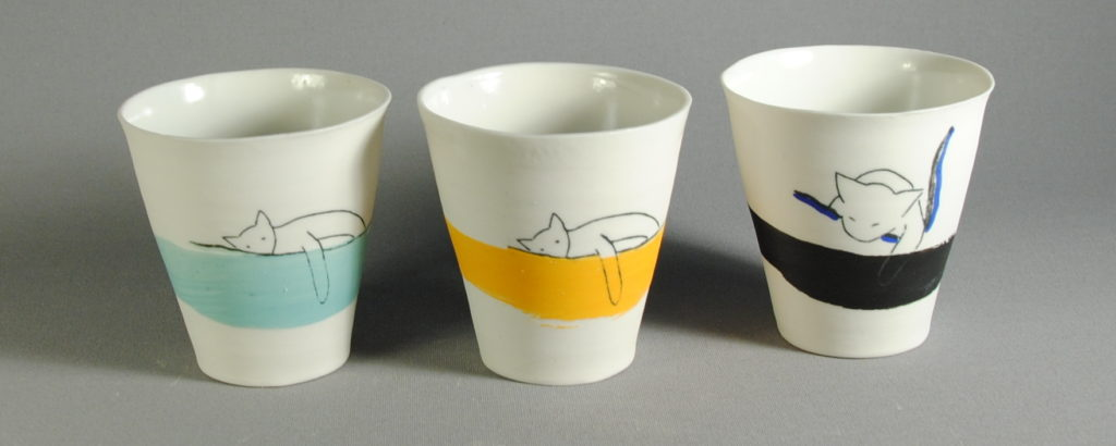 Sale of Ceramics in Pézenas in France