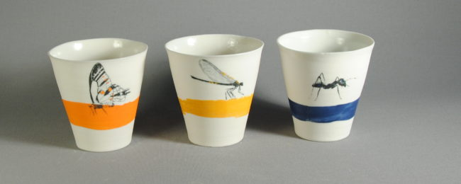 Tasses, gobelets et mugs en porcelaine