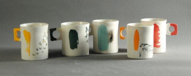 Tasses expresso en porcelaine