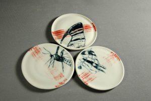 assiette insectes déco