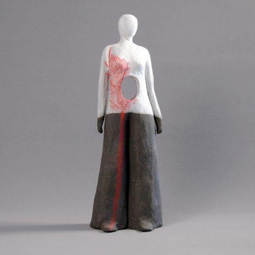 Statuettes modelées - Comme un vide - Statuette les Silencieux - Atlier Terres d'Angély