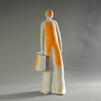 Statuettes modelées - Seconde chance- Statuette les Silencieux - Atlier Terres d'Angély