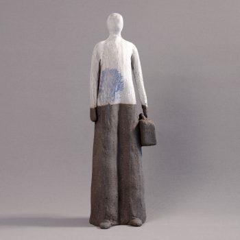 Statuettes modelées - Seconde vie - Statuette les Silencieux - Atlier Terres d'Angély