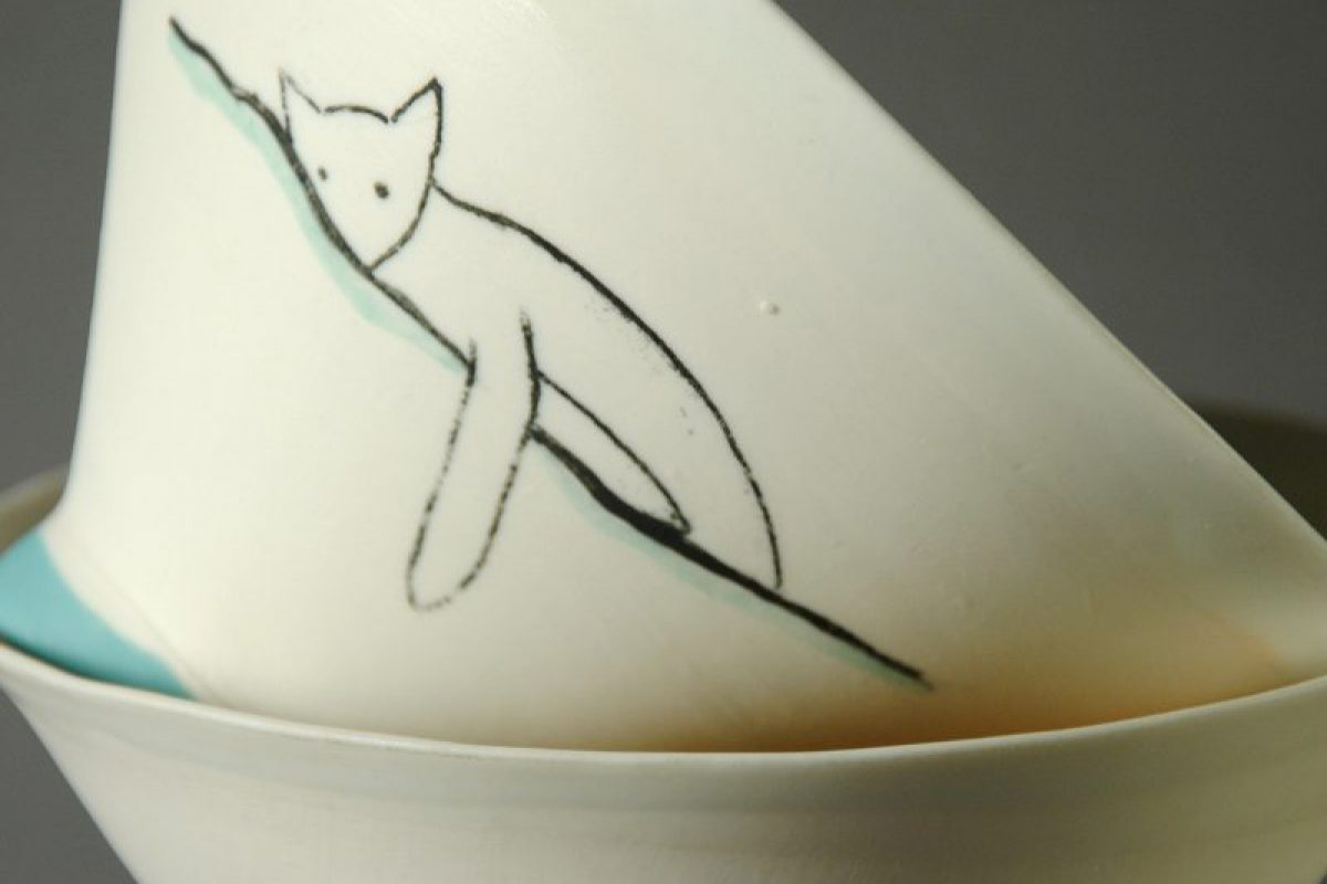 Bols en porcelaine Collection Chats