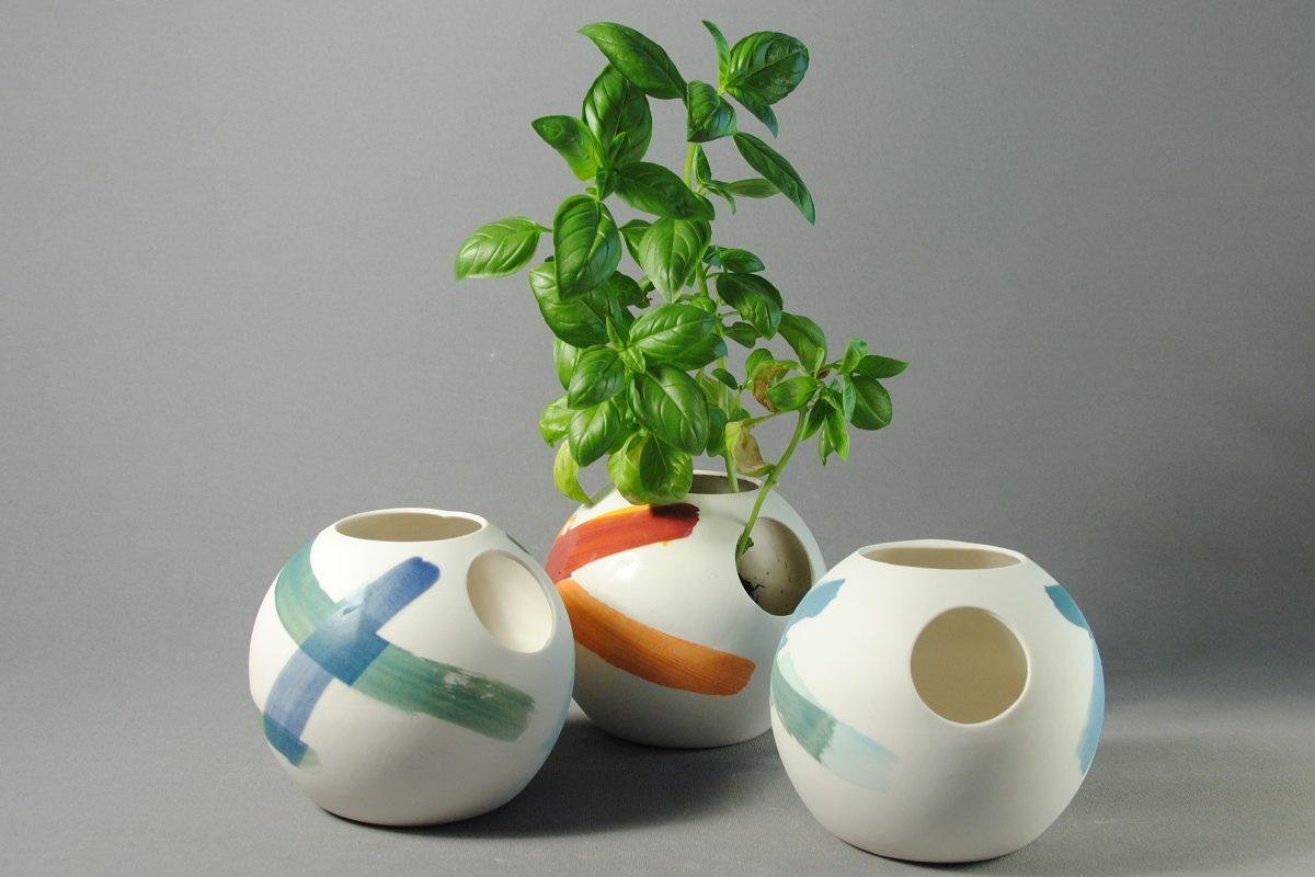 Vases rond